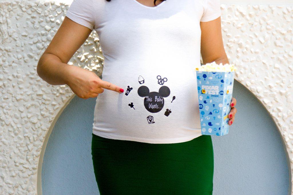 Disneyland Maternity Session, Disneyland Photo Session, Disneyland Baby, This Baby Wants