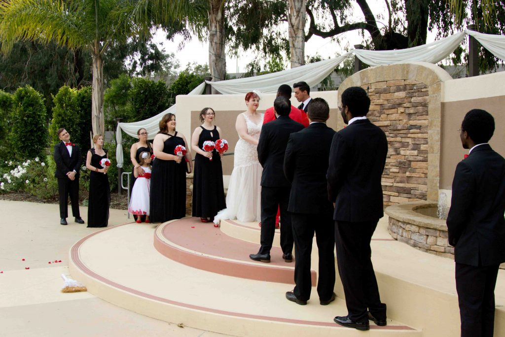 interracial marriage, non traditional wedding, oxnard wedding photograph, tower club wedding