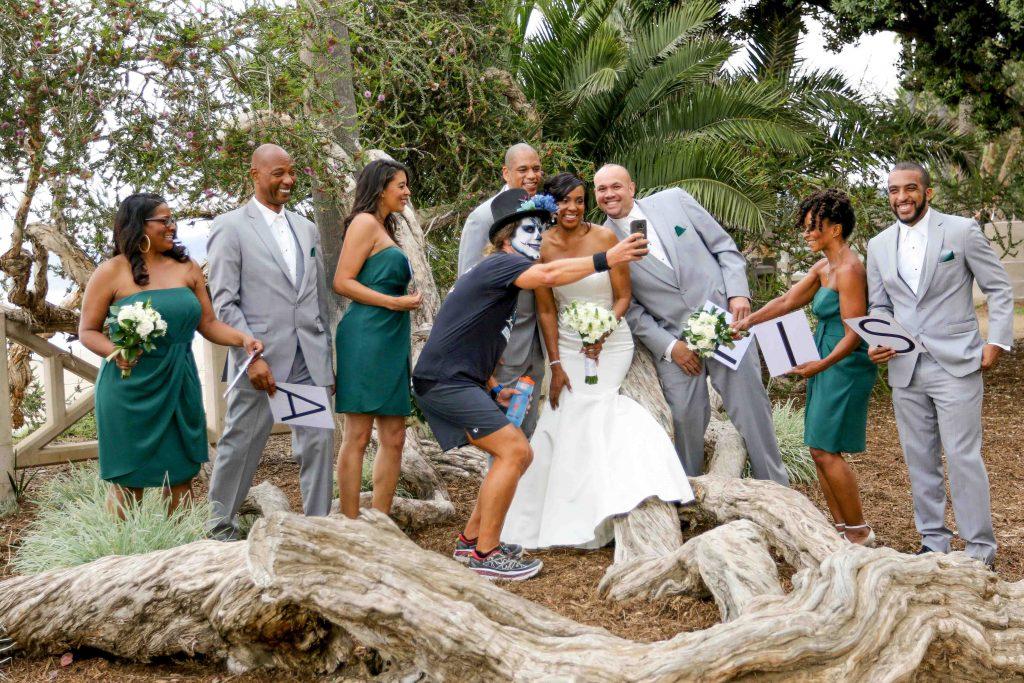 huntley santa monica wedding only in los angeles