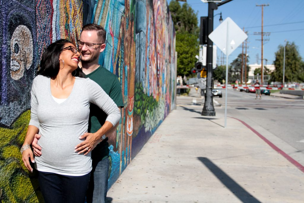 los angeles maternity session