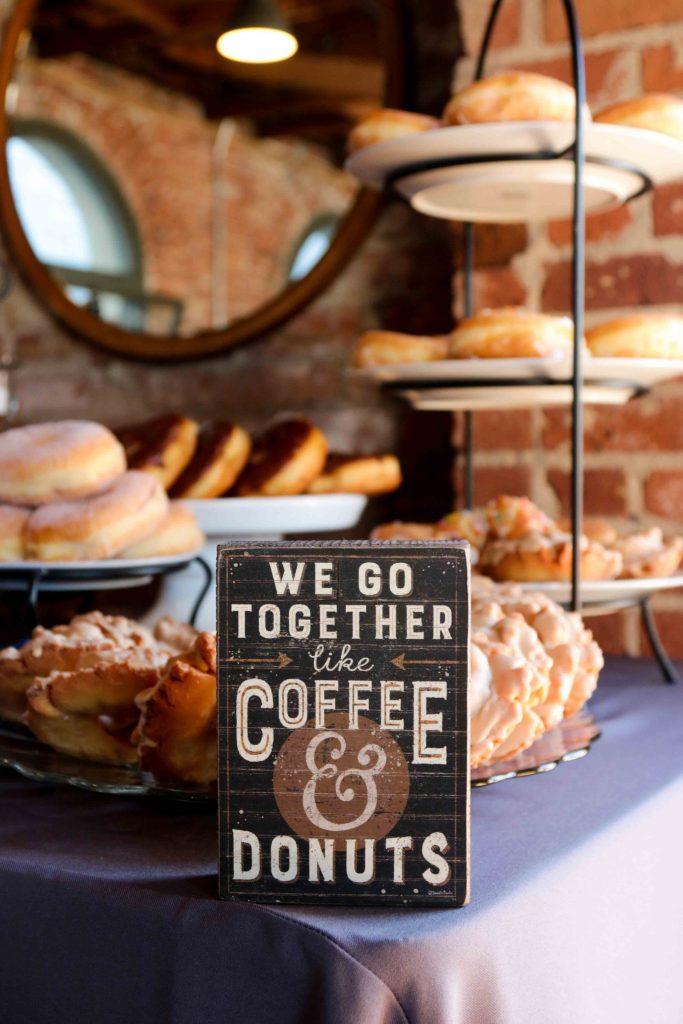 Donut Wedding, Wedding Donuts, Wedding Sign
