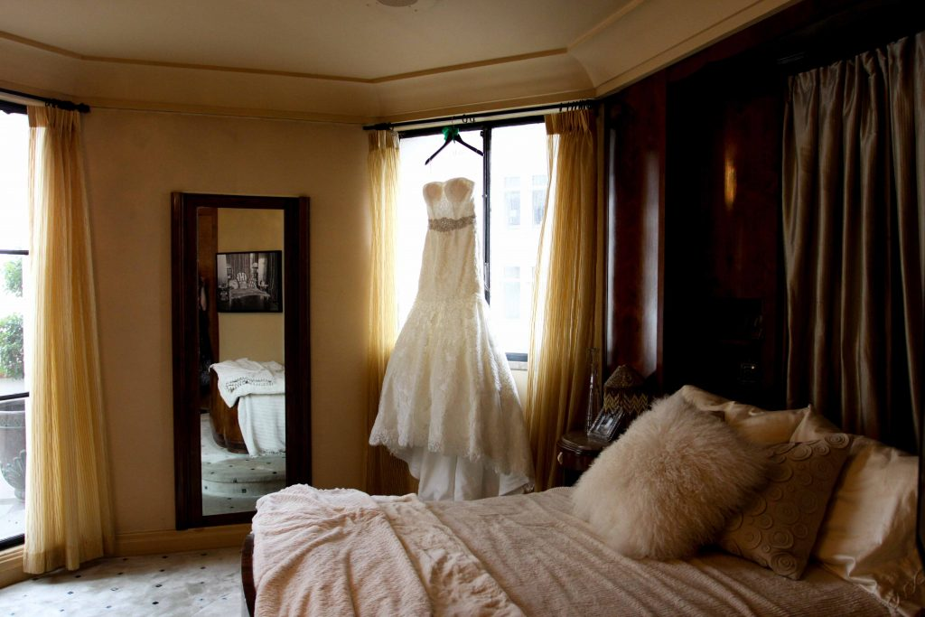 Essence of Australia Wedding Dress, Oviatt Penthouse Wedding