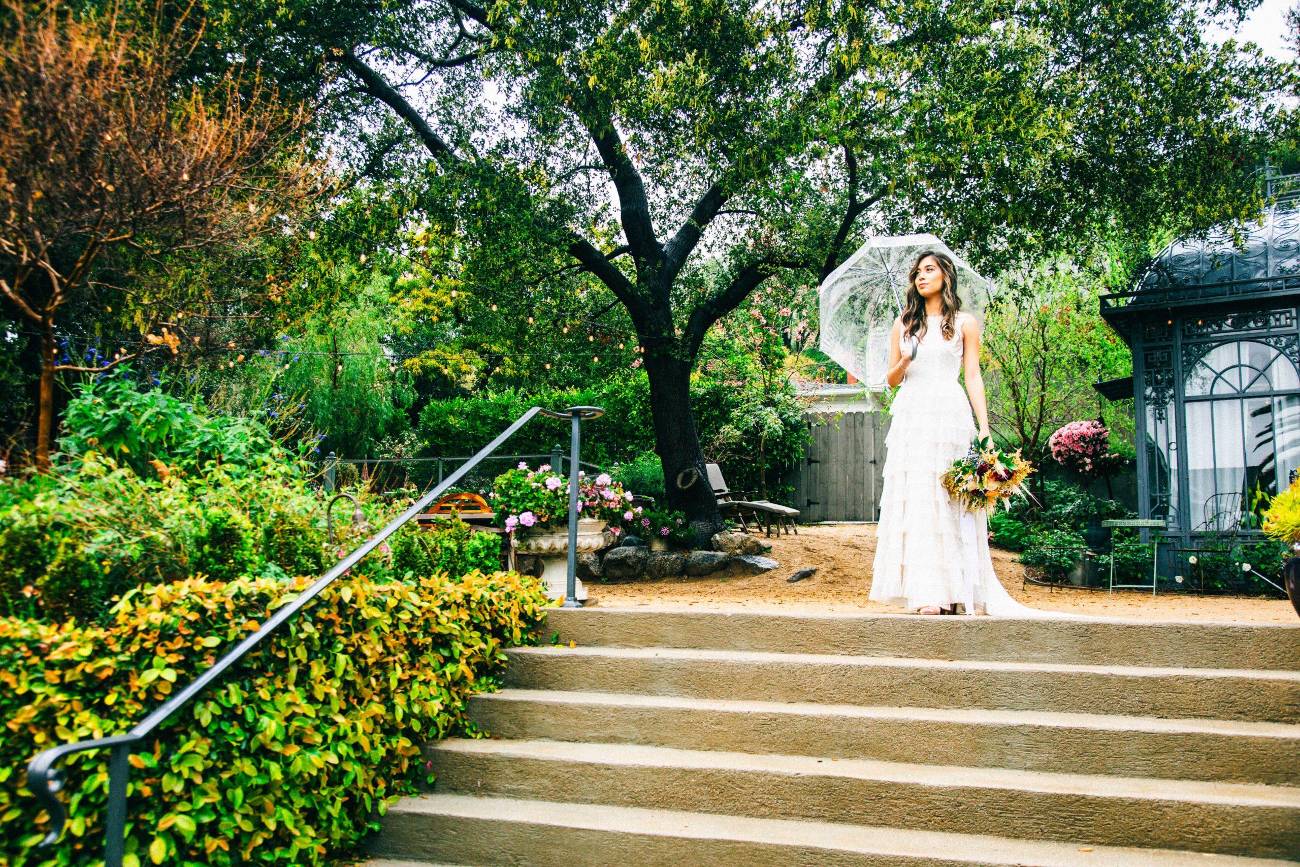 lavender marketplace wedding bride