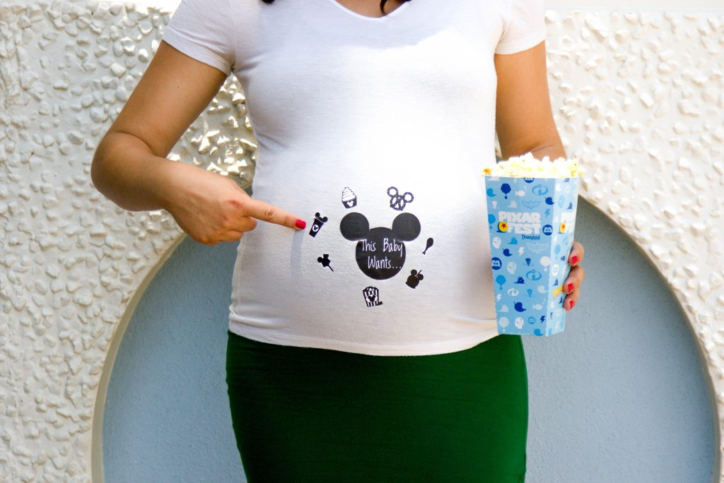 Disneyland Maternity Session, Disneyland Photo Session, Disneyland Baby, This Baby Wants