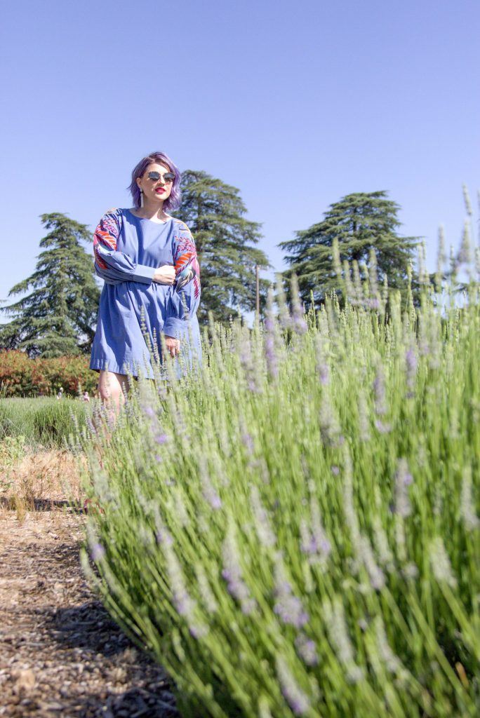 Lavender Fields Portrait Photo Session