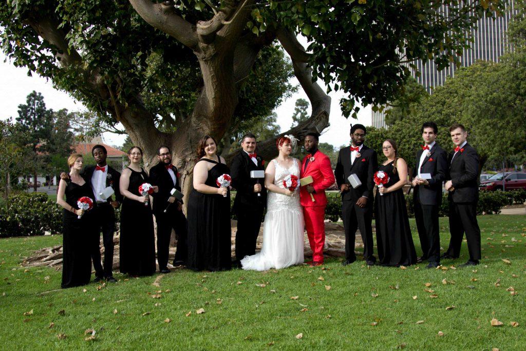 interracial wedding, non traditional wedding, oxnard wedding photograph, tower club wedding
