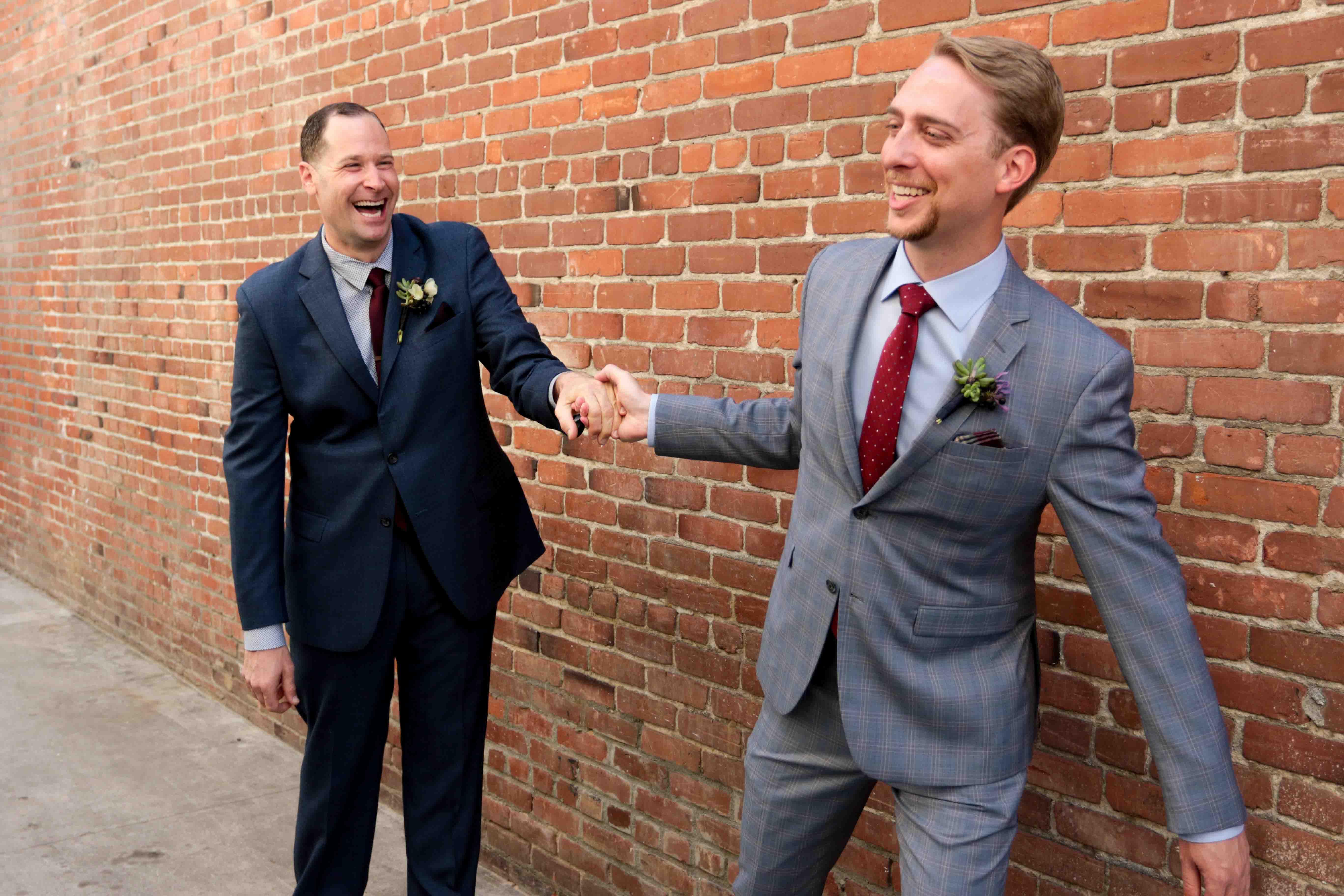 Long Beach Wedding Photography, Gay Wedding Photography