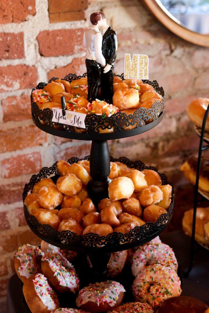 Donut Wedding, Wedding Donuts, Long Beach Wedding Photographer