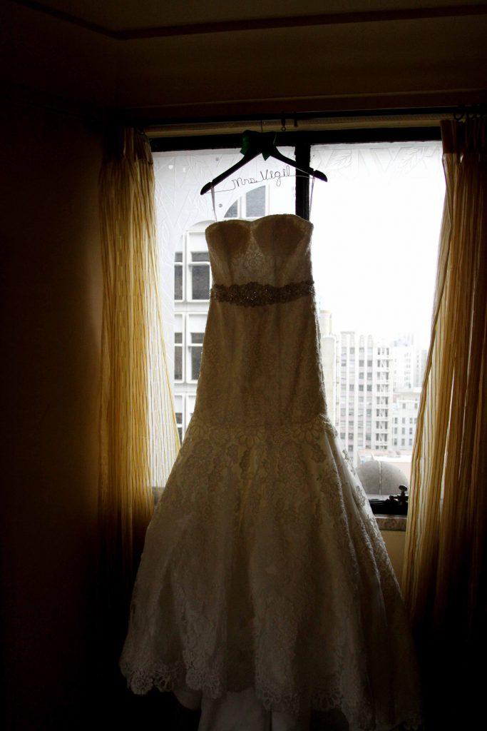 Essence of Australia Wedding Dress, Oviatt Penthouse Wedding