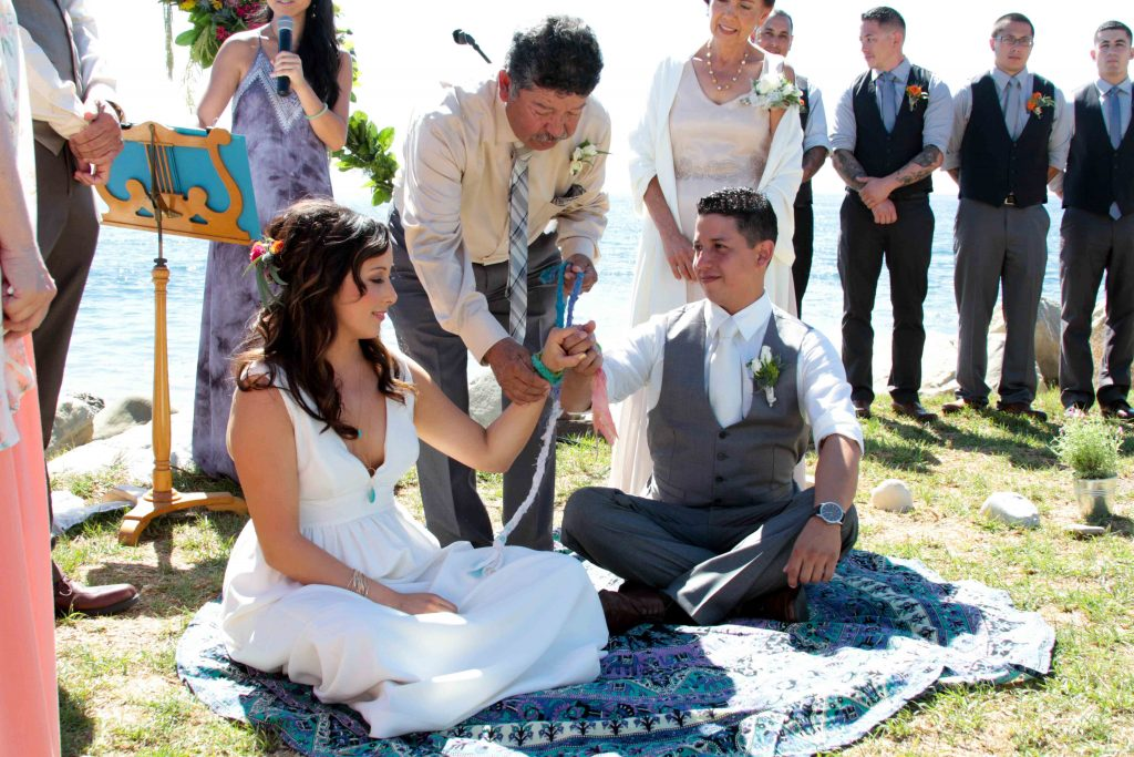 Hand Fasting Ceremony, Boho Wedding