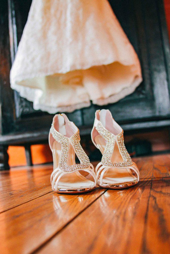 los angeles river center wedding, los angeles wedding photographer, bridal heels los angeles